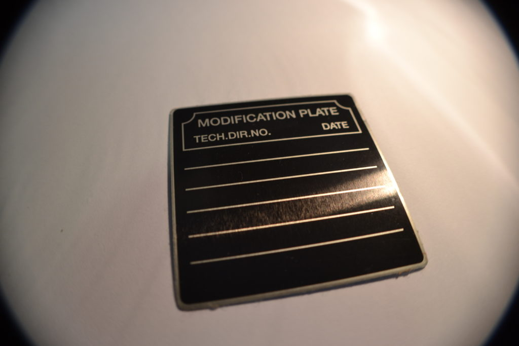 .003 Aluminum Labels & Data Plates